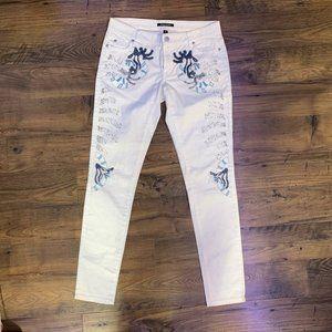 Monika Chiang Beaded Jeans